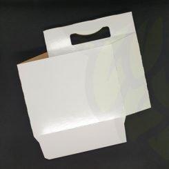 Bottle 6 Pack Carrier- สีขาว
